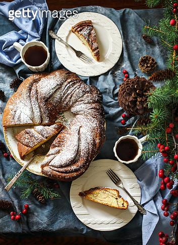 Freshly baked Cinnamon Sweet Brioche - gettyimageskorea
