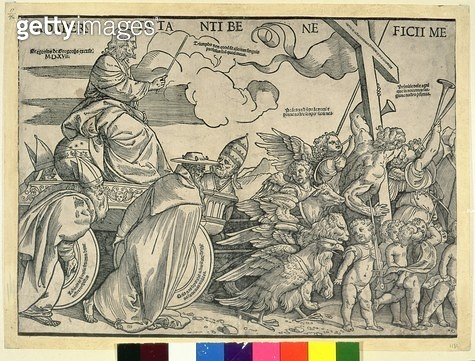 Triumph of Christ (wood engraving) - gettyimageskorea