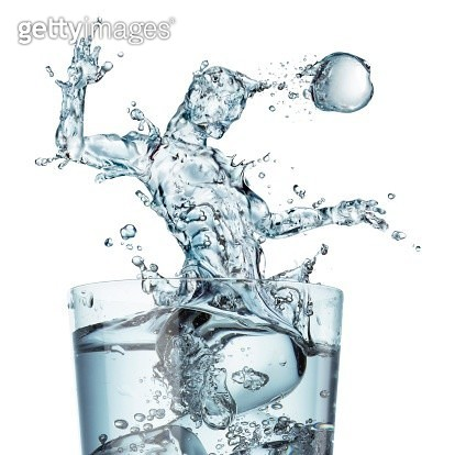 Sports hydration, conceptual artwork - gettyimageskorea