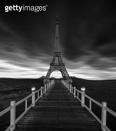 moody black and white mysterious surreal  landscape - gettyimageskorea