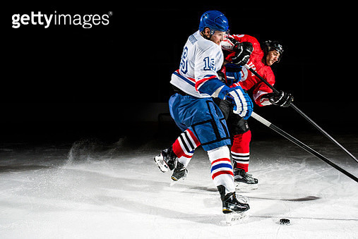 Ice hockey face off - gettyimageskorea