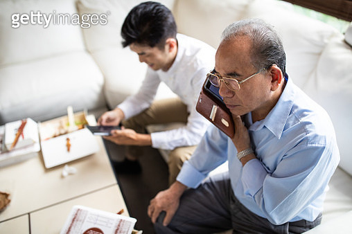 Staying connected to the people that make him happy - gettyimageskorea