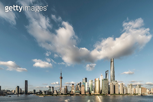 Shanghai Skyline - gettyimageskorea