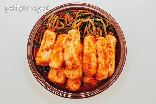 Young radish kimchi - gettyimageskorea