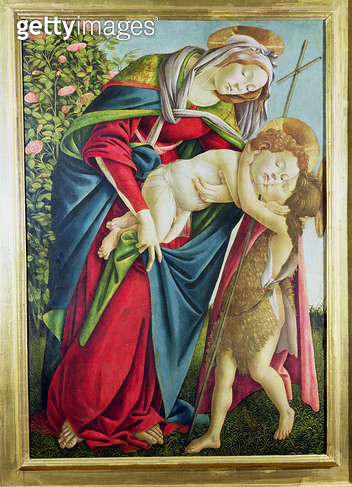 Madonna and Child with St. John the Baptist - gettyimageskorea