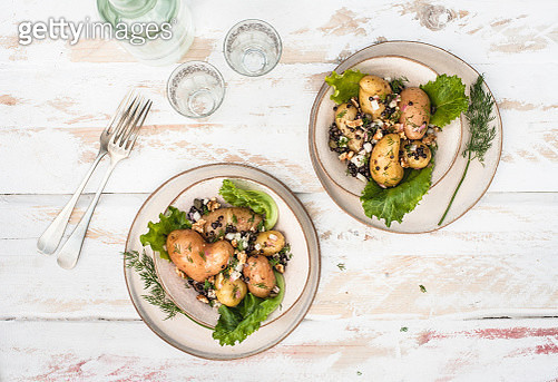 Wicked Potato Salad Lunch for Two - gettyimageskorea