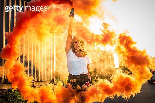 Powerful woman - gettyimageskorea