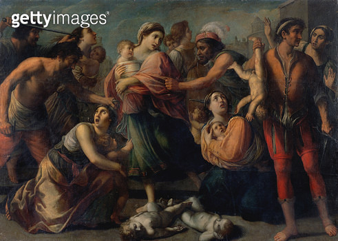 <b>Title</b> : The Massacre of the Innocents<br><b>Medium</b> : <br><b>Location</b> : Private Collection<br> - gettyimageskorea