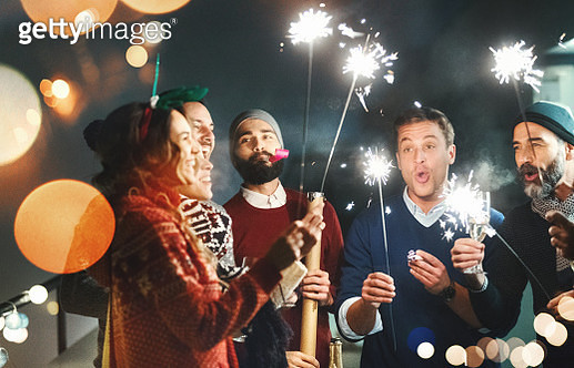 New Year's party. - gettyimageskorea