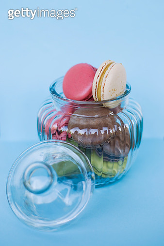 French macaroons - gettyimageskorea