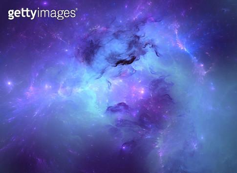 Blue nebula - gettyimageskorea