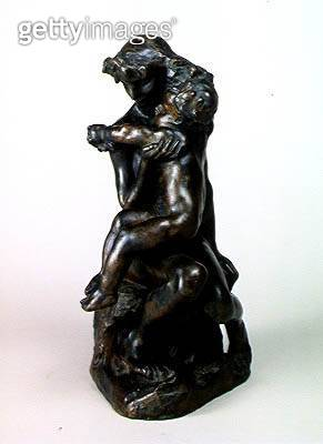 <b>Title</b> : The Brother and Sister, c.1890 (bronze)Additional InfoLe Frere et la Soeur;<br><b>Medium</b> : bronze<br><b>Location</b> : Musee Marmottan, Paris, France<br> - gettyimageskorea