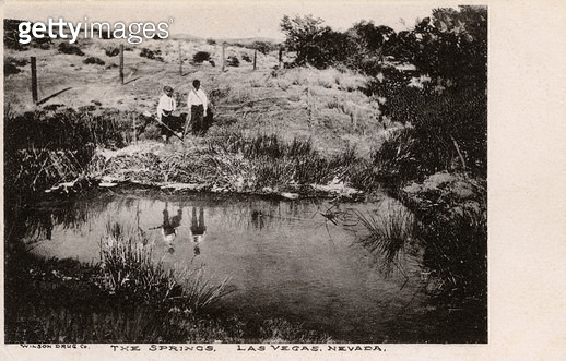 The Springs, Las Vegas, Nevada, USA -- location for the first settlers. - gettyimageskorea