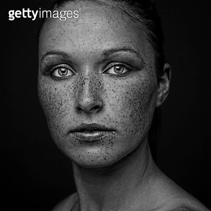 Portrait of a young woman. - gettyimageskorea