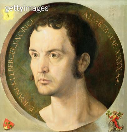 <b>Title</b> : Johannes Kleberger, aged 40, 1526<br><b>Medium</b> : <br><b>Location</b> : Kunsthistorisches Museum, Vienna, Austria<br> - gettyimageskorea