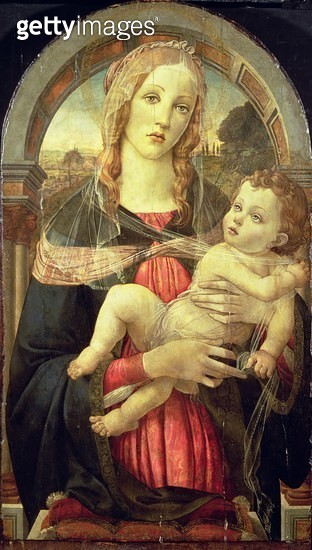 <b>Title</b> : The Virgin and Child, 19th century forgery (tempera on panel)<br><b>Medium</b> : tempera on panel<br><b>Location</b> : Samuel Courtauld Trust, Courtauld Institute of Art Gallery<br> - gettyimageskorea