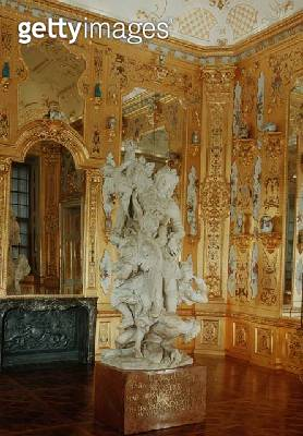 <b>Title</b> : Apotheosis of Prince Eugene of Savoy, marble sculpture by Baltasar Perlmoser (1651-1732)<br><b>Medium</b> : <br><b>Location</b> : <br> - gettyimageskorea