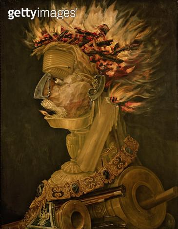 <b>Title</b> : Fire, 1566<br><b>Medium</b> : <br><b>Location</b> : Kunsthistorisches Museum, Vienna, Austria<br> - gettyimageskorea