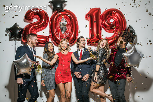 New year party - gettyimageskorea