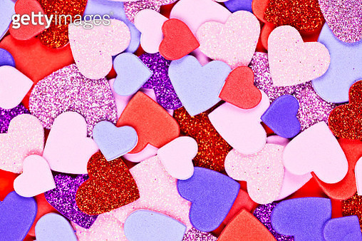 Heart Shape Background - gettyimageskorea