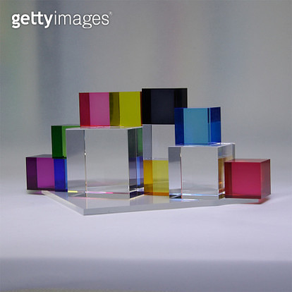 Color image using acrylic material - gettyimageskorea
