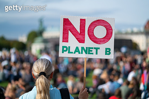 there is no plante b, climate change protest - gettyimageskorea