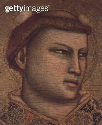 <b>Title</b> : St. Stephen (tempera on panel) (detail of 66554)<br><b>Medium</b> : tempera on panel<br><b>Location</b> : Museo Horne, Florence, Italy<br> - gettyimageskorea