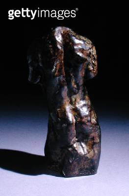 <b>Title</b> : Miniature Male Torso, Type A (bronze)(see also 166731 for front view)Additional Infowith foundry mark Alexis Rudier Fondeur; cas<br><b>Medium</b> : bronze<br><b>Location</b> : Private Collection<br> - gettyimageskorea