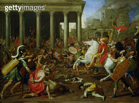 <b>Title</b> : The Destruction of the Temples in Jerusalem by Titus, c.1638/39<br><b>Medium</b> : oil on canvas<br><b>Location</b> : Kunsthistorisches Museum, Vienna, Austria<br> - gettyimageskorea
