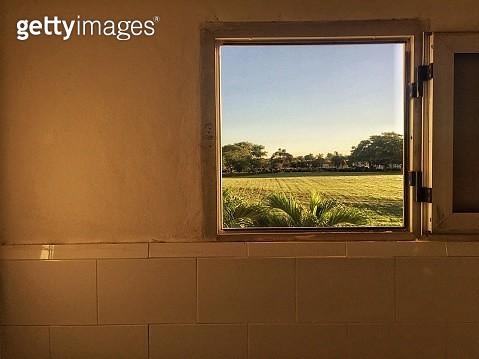Framed landscape - gettyimageskorea