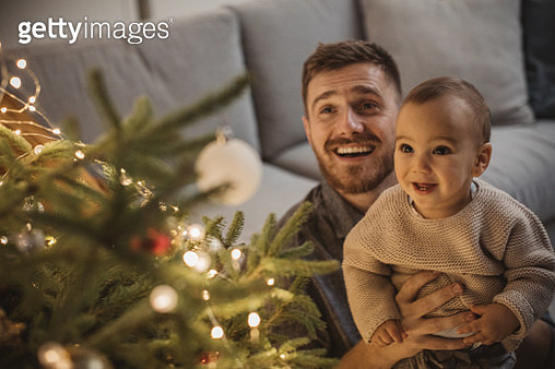Christmas at home - gettyimageskorea
