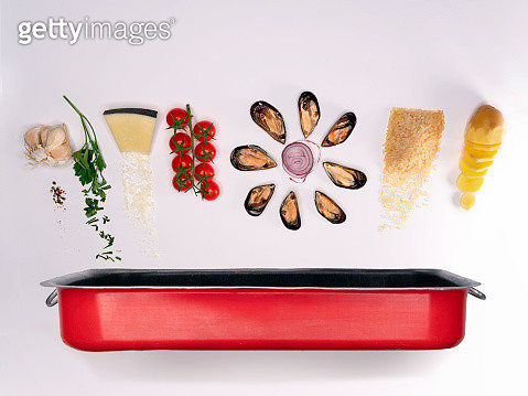 potatoes, rice and mussels - gettyimageskorea