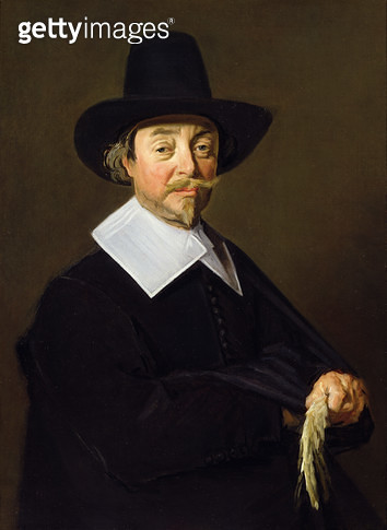 <b>Title</b> : Portrait of a man, c.1643-45<br><b>Medium</b> : oil on canvas<br><b>Location</b> : Johnny van Haeften Gallery, London, UK<br> - gettyimageskorea