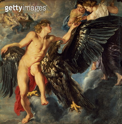 The Kidnapping of Ganymede - gettyimageskorea
