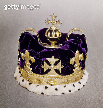 BRITISH CROWN JEWELS. /nCrown of the Prince of Wales. - gettyimageskorea