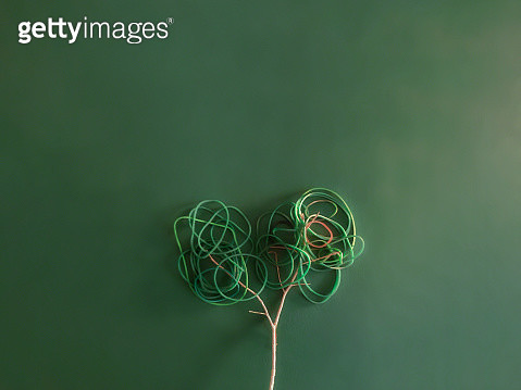 Rubber bands and twigs - gettyimageskorea