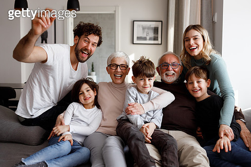 Big family - gettyimageskorea