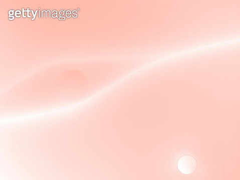 Full frame of abstract shapes and textures, formed of bubbles and drops on a pale pink colored liquid background. - gettyimageskorea