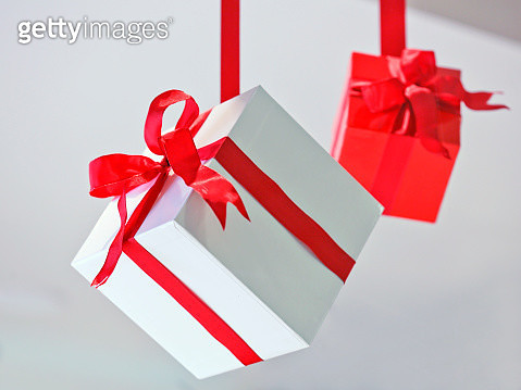 Gift Boxes Hanging - gettyimageskorea