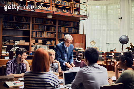 Library Study - gettyimageskorea