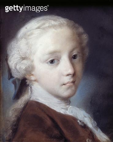 <b>Title</b> : Portrait of a Boy, 1726 (pastel on paper)Additional InfoRitratto di giovinetto; probably the son of the French Consul, Le Blonde<br><b>Medium</b> : pastel on paper<br><b>Location</b> : Galleria dell' Accademia, Venice, Italy<br> - gettyimageskorea