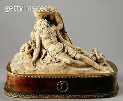 <b>Title</b> : Pieta (clay)Additional Infola pieta;<br><b>Medium</b> : clay<br><b>Location</b> : Galleria dell' Accademia, Venice, Italy<br> - gettyimageskorea