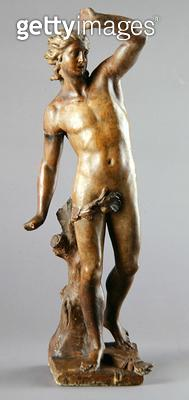<b>Title</b> : Apollo, 1779 (bronze)<br><b>Medium</b> : bronze<br><b>Location</b> : Galleria dell' Accademia, Venice, Italy<br> - gettyimageskorea