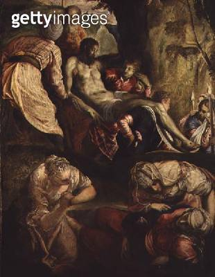 <b>Title</b> : Deposition of Christ, late 1550s<br><b>Medium</b> : oil on canvas<br><b>Location</b> : National Gallery of Scotland, Edinburgh, Scotland<br> - gettyimageskorea