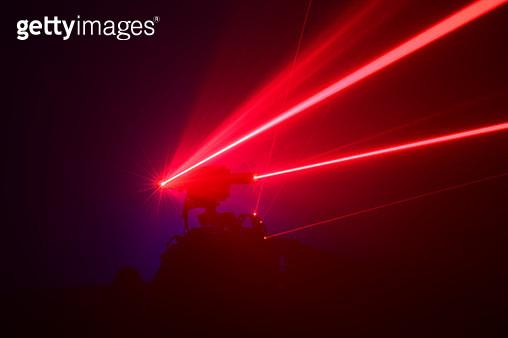 Laser Beams - gettyimageskorea