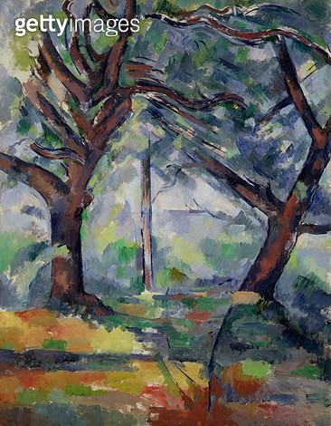 <b>Title</b> : The Big Trees, c.1895-98 (oil on canvas)<br><b>Medium</b> : oil on canvas<br><b>Location</b> : National Gallery of Scotland, Edinburgh, Scotland<br> - gettyimageskorea