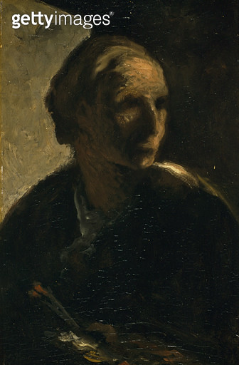 The Painter/ c.1863-66 (oil on canvas) - gettyimageskorea