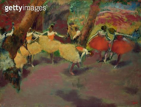 <b>Title</b> : Before the Performance, c.1896-98<br><b>Medium</b> : oil on canvas<br><b>Location</b> : National Gallery of Scotland, Edinburgh, Scotland<br> - gettyimageskorea