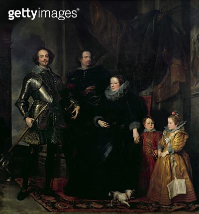 <b>Title</b> : The Lomellini Family, c.1623-27<br><b>Medium</b> : oil on canvas<br><b>Location</b> : National Gallery of Scotland, Edinburgh, Scotland<br> - gettyimageskorea