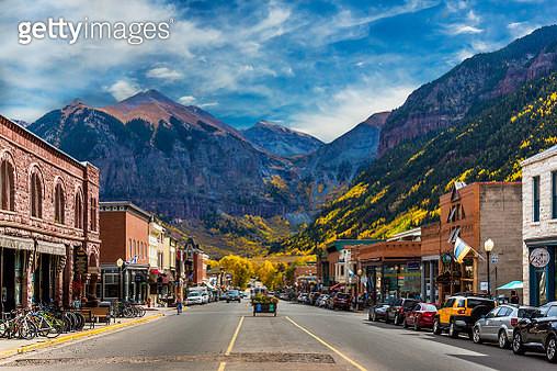 Main Street Telluride Colorado - gettyimageskorea